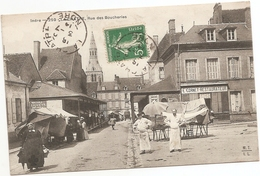 36  Indre  :  La Chatre Rue Des Boucheries   Réf 5470 - La Chatre