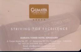 Indonesia Hotel Key, Gumaya Tower Hotel Semarang (1pcs) - Indonesia