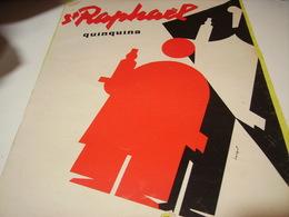 ANCIENNE PUBLICITE APERITIF ST RAPHAEL  1954 - Affiches