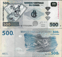 Congo DR 2013 - 500 Francs Pick 96 UNC - Congo