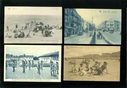 Lot De 60 Cartes Postales De Belgique  La Côte  Knocke     Lot Van 60 Postkaarten Van België Kust Knokke - 60 Scans - Cartes Postales