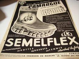ANCIENNE AFFICHE PUBLICITE LA DEMI BOTTE CAMARGUE 1954 - Affiches