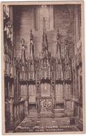 Royal Stall. Thistle Chapel - St. Giles. Edinburgh - (Scotland) - Midlothian/ Edinburgh