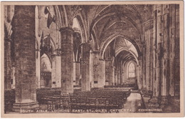 South Aisle. Looking East.- St. Giles Cathedral. Edinburgh - (Scotland) - Midlothian/ Edinburgh