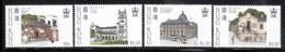 Hong Kong 1985 Scott 439-42 Historical Buildings MNH** - Hong Kong (...-1997)