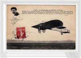 1864 AV303 CPA VEDRINES PARTI LE MATIN DE LA BRAYELLE A 5H15 POUR MADRID TOMBE DE 2000M DE HAUT A EPINAY SUR SEINE - Aviatori