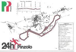B062 - 24 ORE DI PINZOLO - STAFFETTA INTERNAZIONALE DI GRAN FONDO - 31.01.1981 -  ANNULLO SPECIALE - Winter Sports