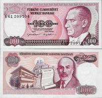 Turkey 1984 - 100 Lirasi - Pick 194 UNC - Turquie