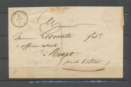 2 Janvier 1849 Letre En Local  Cad T15 Le Thillot-Ramonchamp (82) +CL+ 1 X4593 - Poststempel (Briefe)