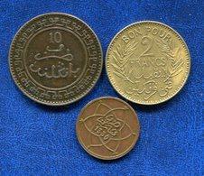 LOT 3 PIECES COLONIES FRANCAISES - Colonies