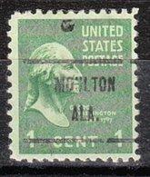USA Precancel Vorausentwertung Preo, Locals Alabama, Moulton 719 - Etats-Unis