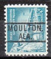 USA Precancel Vorausentwertung Preo, Locals Alabama, Moulton 801 - Vereinigte Staaten