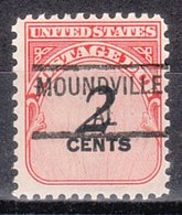 USA Precancel Vorausentwertung Preo, Locals Alabama, Moundville 841 - Vereinigte Staaten