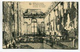 CPA - Carte Postale - Belgique - Ruines De Louvain - Université, Bibliothèque - 1920  (SV6563) - Leuven