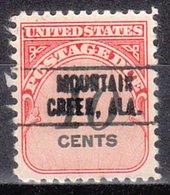 USA Precancel Vorausentwertung Preo, Locals Alabama, Mountain Creek 749 - Vereinigte Staaten