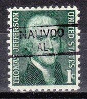 USA Precancel Vorausentwertung Preo, Locals Alabama, Nauvoo 835,5 - Vereinigte Staaten