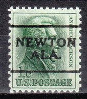 USA Precancel Vorausentwertung Preo, Locals Alabama, Newton 701 - Vereinigte Staaten