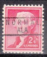 USA Precancel Vorausentwertung Preo, Locals Alabama, Normal 801 - Vereinigte Staaten