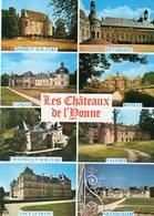 """Dept 89,Yonne,Cpm """"Yonne Touristique"""",Les Châteaux De L'Yonne,Domecy Sur Cure,Tanlay,Vallery,Etc.... - France"""