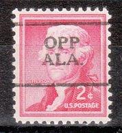 USA Precancel Vorausentwertung Preo, Locals Alabama, Opp 701 - Vereinigte Staaten