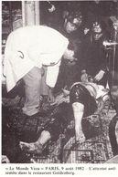 Le Monde Vécu Carte Numérotée 53  Paris 9 Aout 1982 L'attentat Antisémite Dans Le Restaurant Goldenberg - Histoire