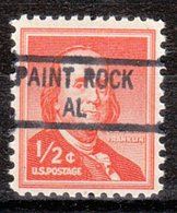 USA Precancel Vorausentwertung Preo, Locals Alabama, Paint Rock 841 - Vereinigte Staaten