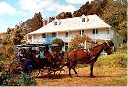 NOUVELLE-ZELANDE. Carte Postale écrite. Pompallier House, Russel, Bay Of Islands. - Nouvelle-Zélande