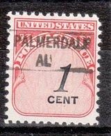 USA Precancel Vorausentwertung Preo, Locals Alabama, Palmerdale 841 - Vereinigte Staaten