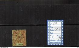 Gabon - N°22 - Used Stamps