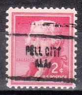 USA Precancel Vorausentwertung Preo, Locals Alabama, Pell City 704 - Vereinigte Staaten