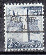 USA Precancel Vorausentwertung Preo, Locals Alabama, Pell City 841 - Vereinigte Staaten
