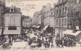 PONTIVY - Rue Neuillac - Au Meilleur Marché - Très Animé - TBE - Pontivy
