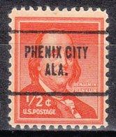USA Precancel Vorausentwertung Preo, Locals Alabama, Phenix City 704 - Vereinigte Staaten