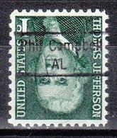 USA Precancel Vorausentwertung Preo, Locals Alabama, Phil Cambell 843 - Vereinigte Staaten