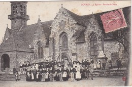 GOURIN - L'Eglise - Sortie De Noce - Gourin