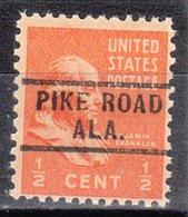 USA Precancel Vorausentwertung Preo, Locals Alabama, Pike Road 729 - Vereinigte Staaten