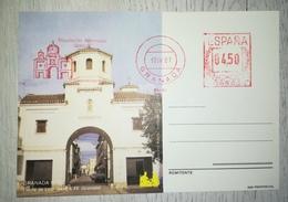 ESPAÑA SPAIN ESPAGNE SPANIEN TARJETA POSTAL CARD CAPITULACIONES 87 GRANADA 1987 ORIGINAL - Enteros Postales