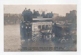 - CPA PARIS (75) - INONDATIONS Janvier 1910 - Omnibus Passant Malgré L'inondation, à L'Esplanade Des Invalides - - Inondations De 1910