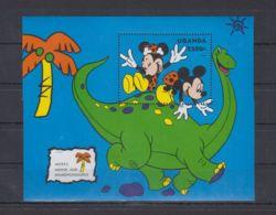 D583. Uganda - MNH - Cartoons - Disney's - Cartoon Characters - Dinosaurs - Disney