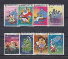N583. Sierra Leone - MNH - Cartoons - Disney's - Christmas - Aladdin - Disney