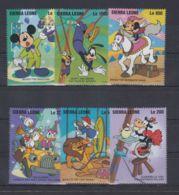N583. Sierra Leone - MNH - Cartoons - Disney's - Cartoon Characters - Circus - Disney