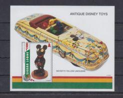 N583. Sierra Leone - MNH - Cartoons - Disney's - Antique Toys - Disney