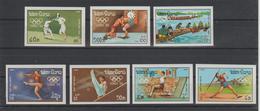 LAOS  #IMPERFORATE  OLYMPIC KOREA 88 (ESCRIME...)   Nº 1067-1073 **MNH VF  Ref  370M - Laos