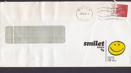 Norway SMILET Skien A/S SKIEN 1972 Cover Brief Amundsen Schiff Ship 'Fram' Stamp - Norwegen