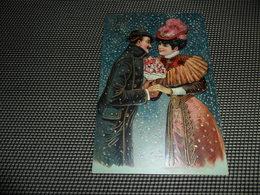Couple ( 59 )  Koppel  Carte Gaufrée  Reliëf  Gaufrage - Coppie