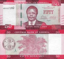 Liberia 2016 - 50 Dollars - Pick 34 UNC - Liberia