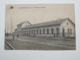 LICHTERVELDE   ,  Carte Postale  1916 - Lichtervelde