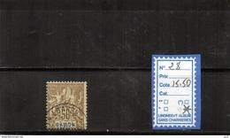 Gabon - N°28 - Used Stamps