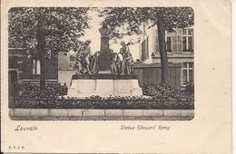 LEUVEN LOUVAIN  STATUE EDOUARD REMY - Leuven