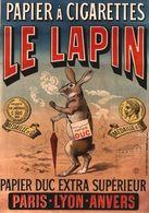 @@@ MAGNET - Papier à Cigarettes Le Lapin - Publicitaires